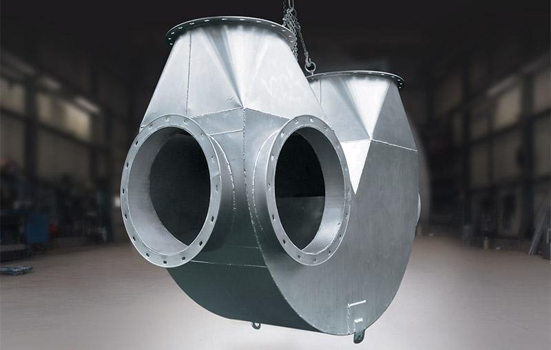 transformation du métal en feuille Beauchemin Industriel conduit