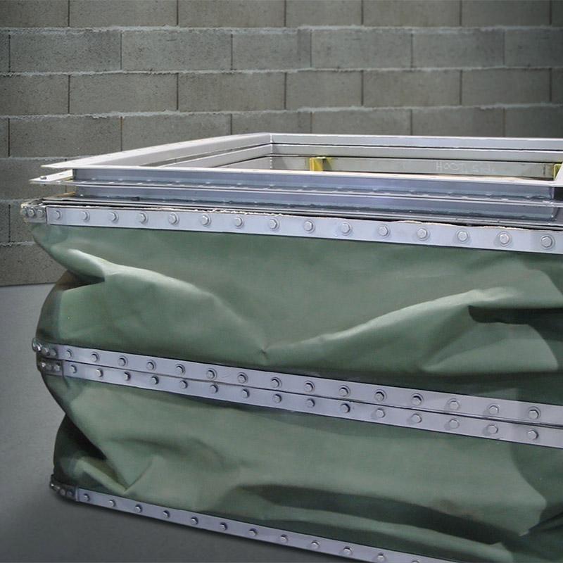 transformation du métal en feuille Beauchemin Industriel joint flexible en tissu